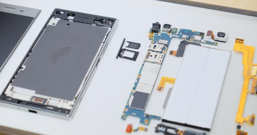Sony 官方拆解新散熱結構設計,Xperia XZ Premium、XZs、XA1 Ultra 實機細節展示