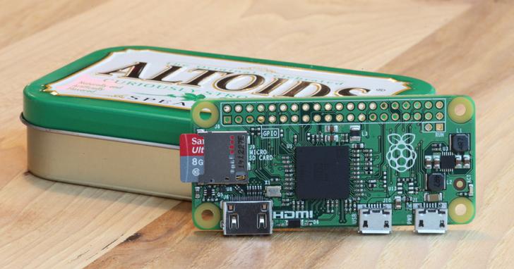樹莓派推出新產品Raspberry Pi Zero W,內建Wi-Fi及藍牙模組的10美元電腦