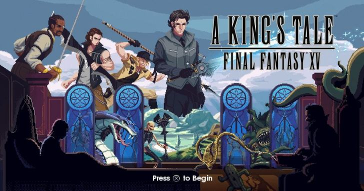 Final Fantasy XV 前傳《A King's Tale:Final Fantasy XV》開放免費下載,充滿復古風味的國王冒險