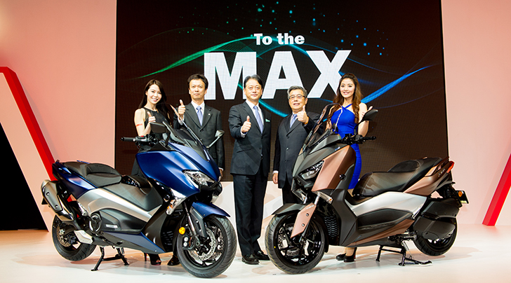 黃牌速克達 XMAX 300新上市,超乎想像的移動!