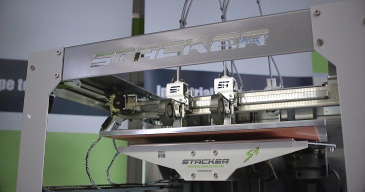 Stacker S2工業級大型3D印表機,雙噴頭提升工作效率