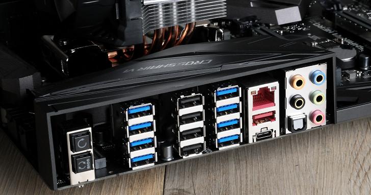 AMD Ryzen vs. Intel Kaby Lake,晶片組 I/O 傳輸效率比試