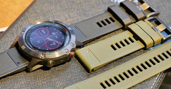 Garmin 推出新一代 GPS 心率腕錶,Fenix 5、5S、5X 三種尺寸細節現場看