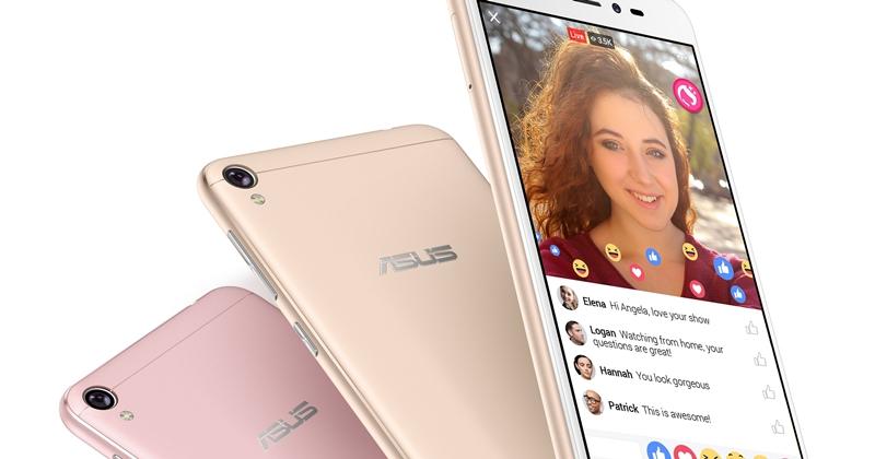 專為直播而生!華碩推出 ZenFone Live 美顏直播手機