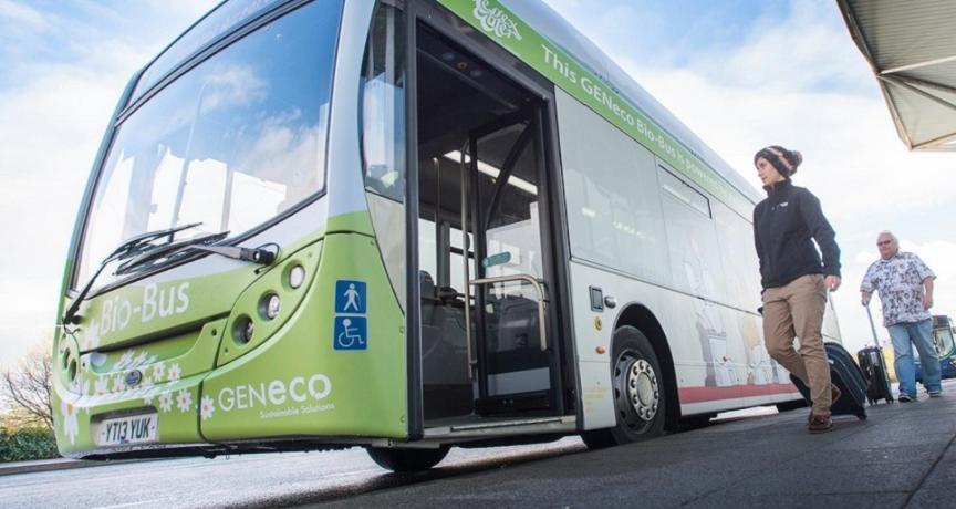 載著你糞力前進! 英國首台排泄物發電公車 Bio-Bus
