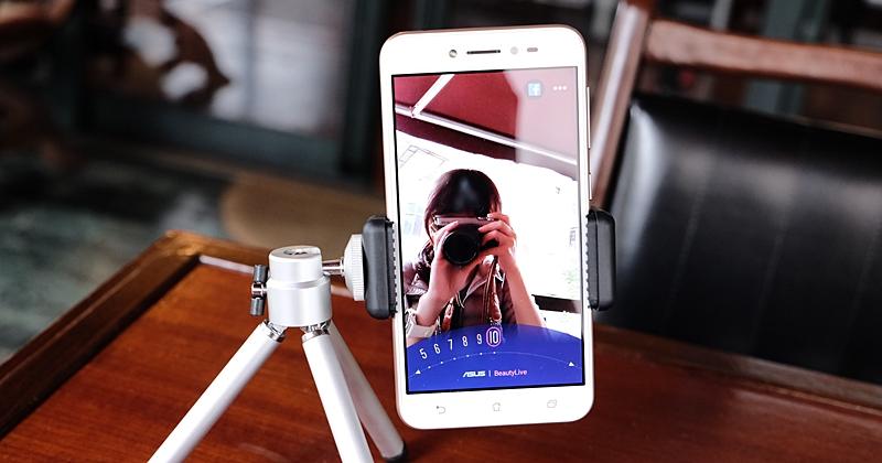 華碩 ZenFone Live 直播手機動手玩,鎖定入門直播市場、提供簡單即時美顏
