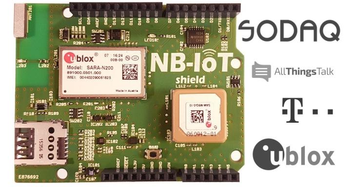 Sodaq推出Arduino專用NB-IoT Shield,延伸物連網裝置通訊範圍