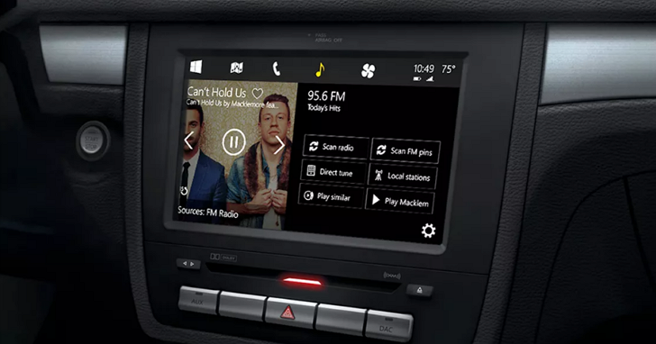 車上也要用Windows!微軟宣布新車商服務授權計畫,由Toyota打頭陣