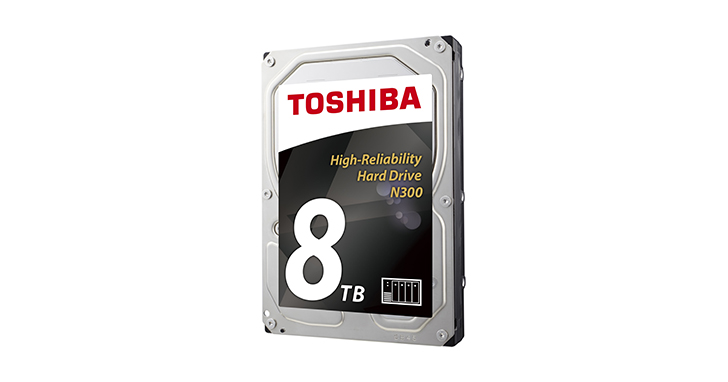 TOSHIBA躍居2016年成長最快的硬碟和固態硬碟供應商!最新報告指出硬碟和固態硬碟成長速度是市場之冠 !