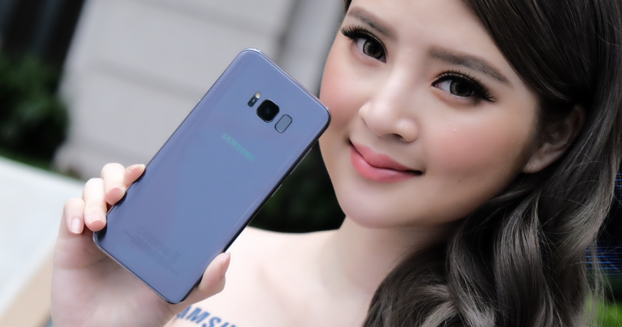 三星 Galaxy S8 動眼看,安兔兔跑分突破 17 萬分