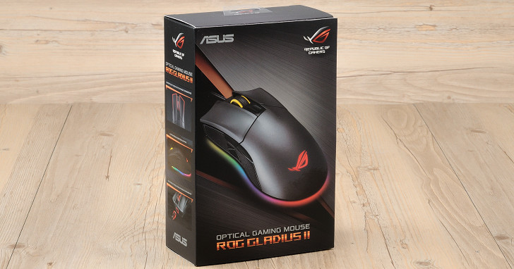 新增 DPI 狙擊按鈕與 Aura 燈光,Asus ROG Gladius II 電競滑鼠試用