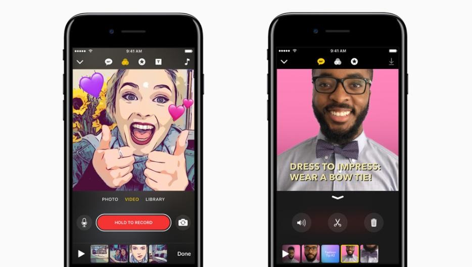 Apple 新剪輯軟體 Clips 開放下載,按幾個按鈕就可以剪出厲害影片 | T客邦