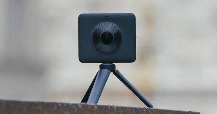 小米 360 全景相機登場:萬元有找,支援 3.5K 30fps 錄影、2388 萬畫素拍照與 IP67 防水防塵