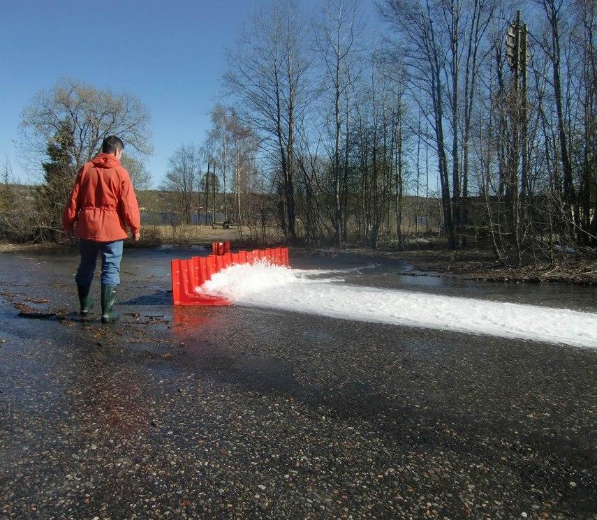 瑞典防淹水神器再升級,可以擋水又可以蓄水的NOAQ BOXWALL