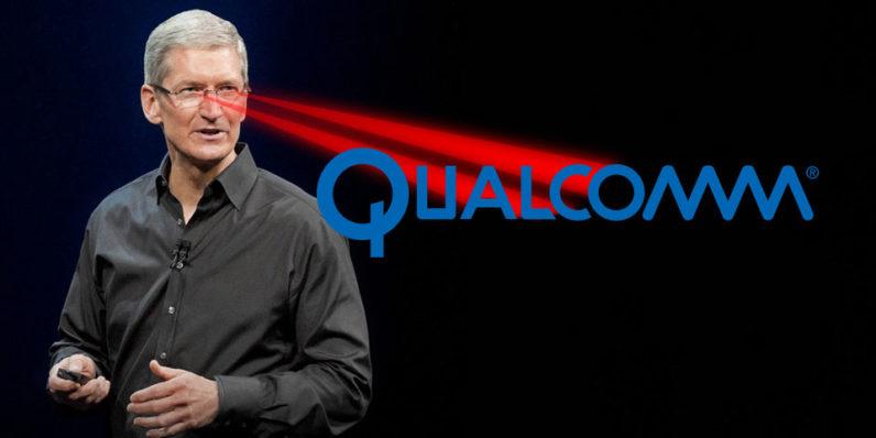 蘋果、高通官司戰:高通反告蘋果作弊!動手腳讓 Intel 的數據機晶片效能勝過高通