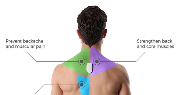 低頭族救星Upright Go,在你背上裝上這個「開關」來校正姿勢並改善背痛