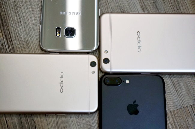 OPPO R9s、R9s Plus、iPhone 7 Plus、Samsung Galaxy S7 Edge 陽明山一日遊拍照比對