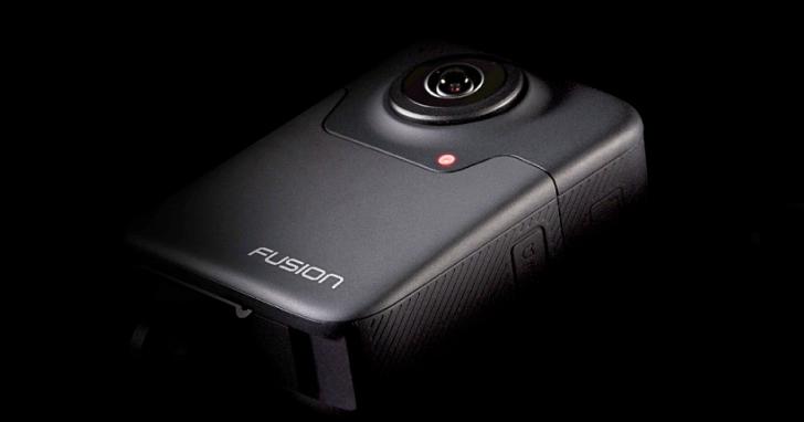 進軍 360 度 VR 相機,GoPro 推出可錄製 5.2K 畫質的 Fusion 360