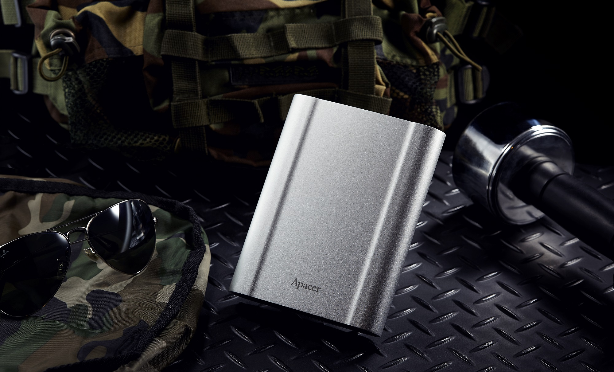 宇瞻首款軍規抗摔行動硬碟AC730,全副武裝新上市!