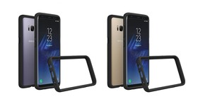為雙曲面螢幕提供更完善的保障,台灣犀牛盾推出 Samsung S8/S8+ 專屬的防摔手機殼與滿版保護貼
