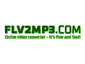 FLV2MP3.COM:無名小站 影片轉音樂