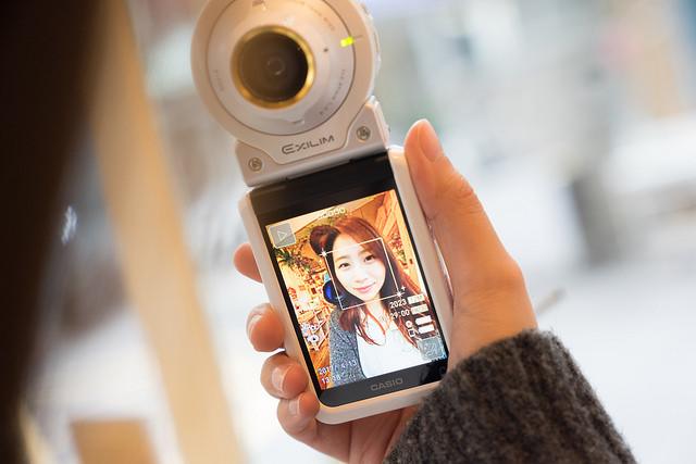 Casio EX-FR100L 試玩:讓你輕鬆拍出腿長感,搭配濾鏡使用不只美肌更能拍出豐富色彩