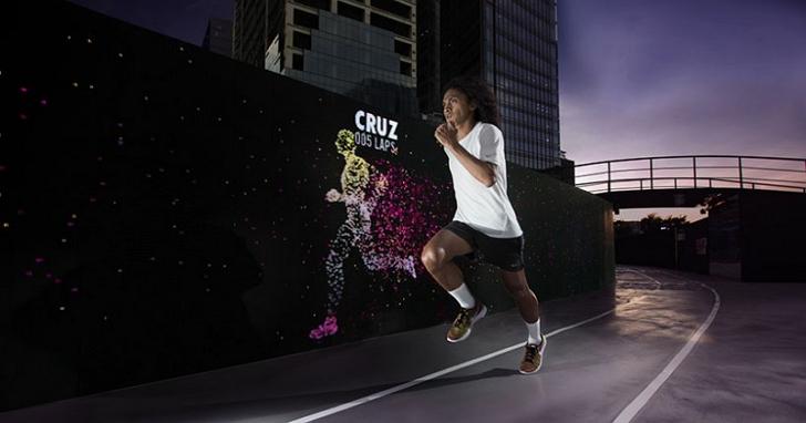 Nike 有個會發光的運動場,想讓你不斷地和自己賽跑