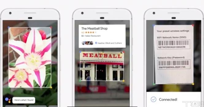 Google 發表 Google Lens,拍照就能辨識花種、登入 Wi-Fi 網路、知道餐廳評價
