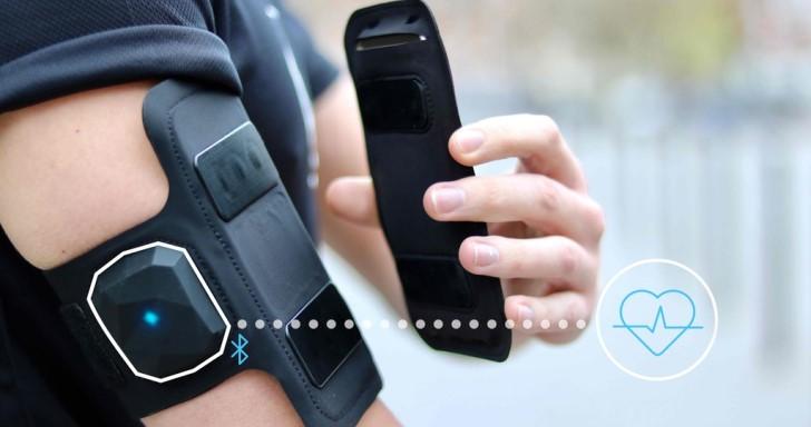 Shapeheart心律計結合手機腕帶,拆裝手機只需1秒鐘