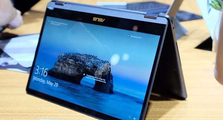 Asus 於 Computex 2017 發表最輕薄 ZenBook Flip S、ZenBook 3 Deluxe、ZenBook Pro