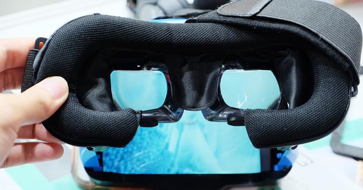 看起來像是 VR 眼鏡,但其實是給你超大螢幕沈浸體驗的 Mogo 頭戴眼鏡