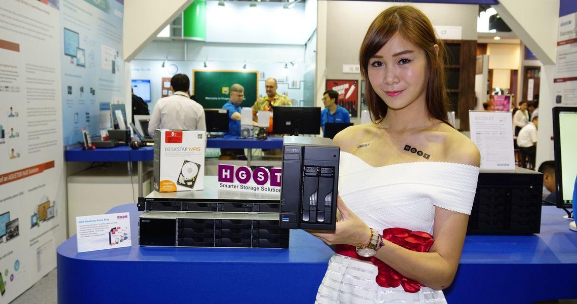華芸展示Intel新平台NAS,ADM 3.0系統結合HGST大容量NAS硬碟,無痛解決遠端設定難題