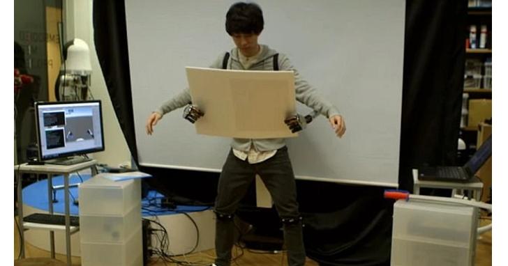 八爪博士,是你?東京大學研發形似章魚的腳控機械臂