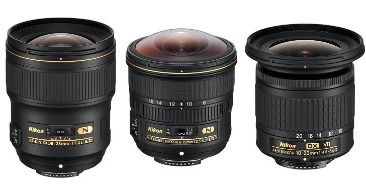 Nikon 推出三顆新鏡:魚眼變焦 8-15mm、廣角大光圈 28mm F1.4 及 DX 超廣角 10-20mm