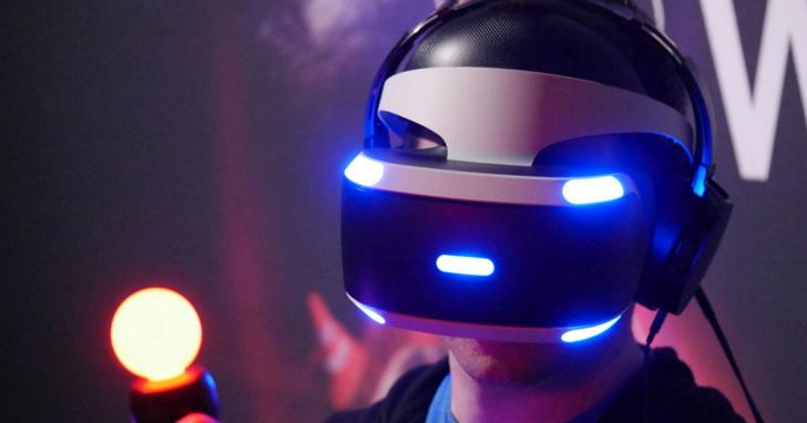 Sony PS VR 賣了一百多萬台,比 HTC Vive 和 Oculus Rift 加起來還多