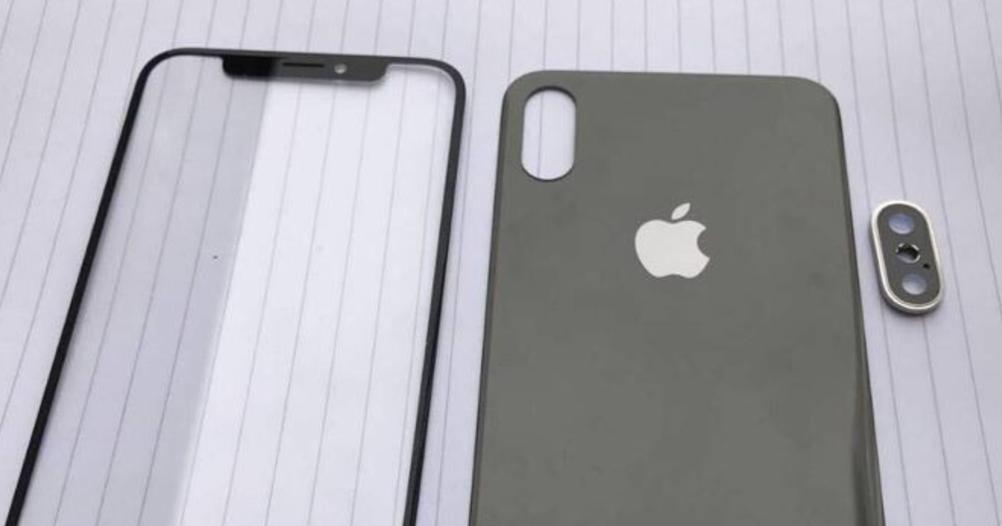 iPhone 8 面板、背蓋實機照流出,似乎真的取消正面 Touch ID