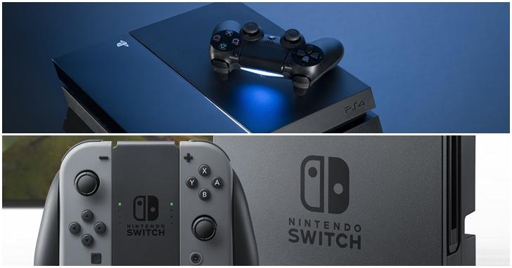 任天堂 Switch 熱度降溫?PS4 銷量重回美國榜首
