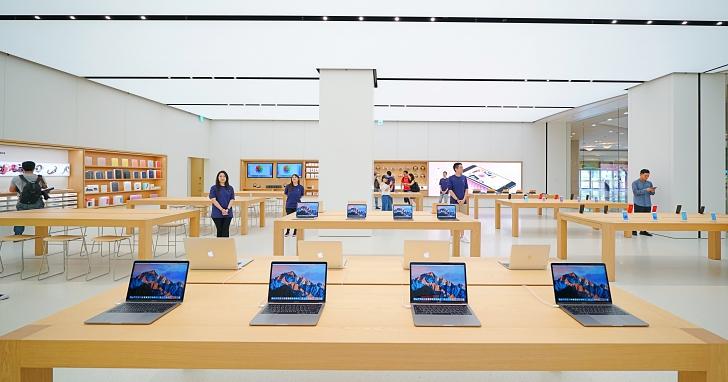 開幕前搶先看,40 張圖文帶你逛全台第一間 Apple Store!