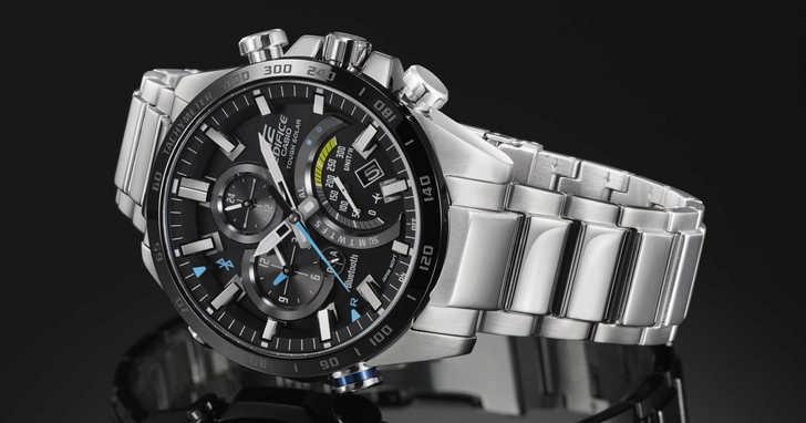CASIO 全新藍牙系列錶款 EQB-501XD,可透過手機設定超過300個城市的時間