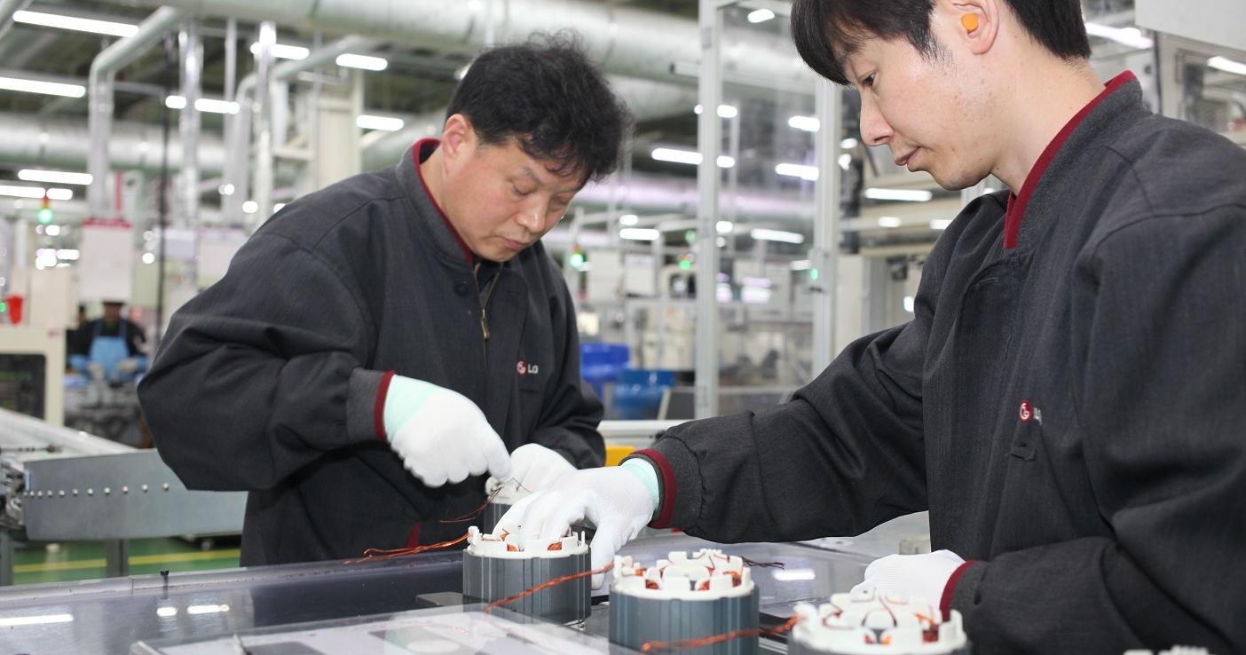 LG 韓國昌原工廠直擊,17 條生產線鎖定冰箱市佔率第一