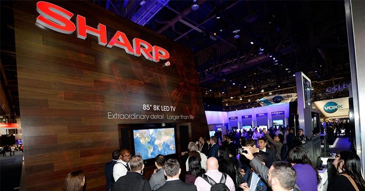 不甩 OLED,夏普明年開始生產 8K 液晶電視
