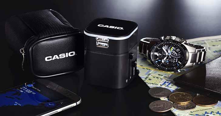 EDIFICE推全新藍牙錶款EQB-501XD/EQB-501XDB 父親節型男老爸最佳首選