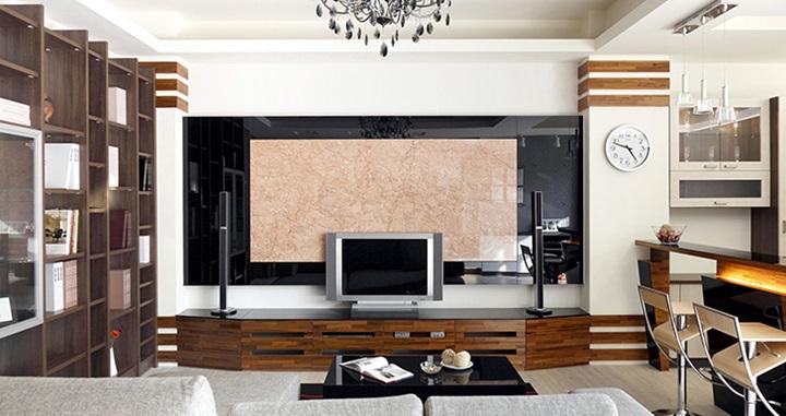 科技新櫃裝修攻略! 電視櫃與電視牆比例到底該怎麼抓? 原來最好的比例是…