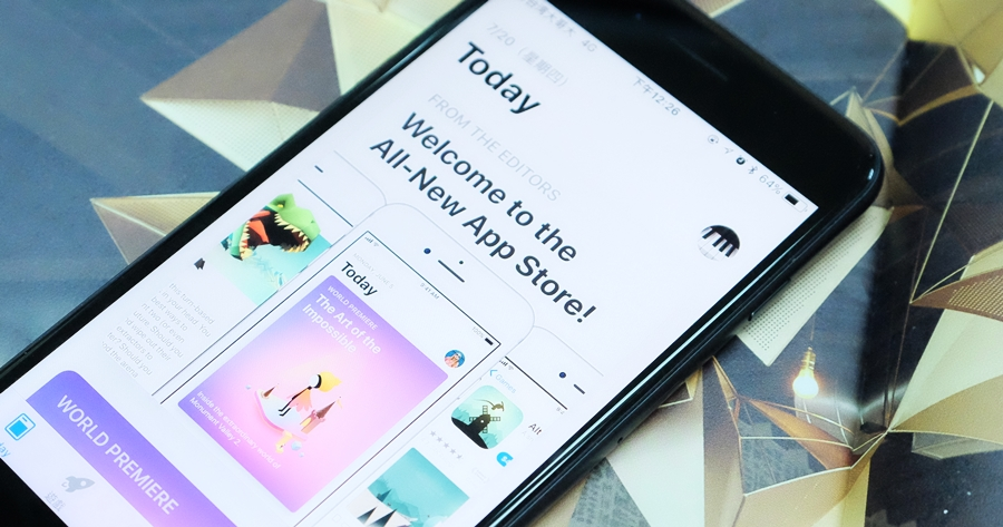 【iOS 11 Public beta 2 功能實測】輸入法小更新、App store 大改版