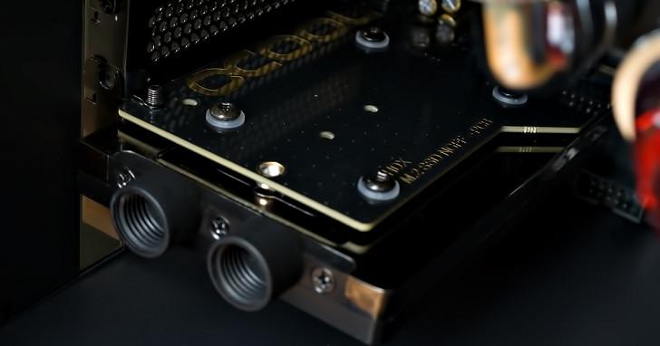 讓 M.2 固態硬碟常保清涼,Alphacool 推出 HDX-3 水冷散熱套件
