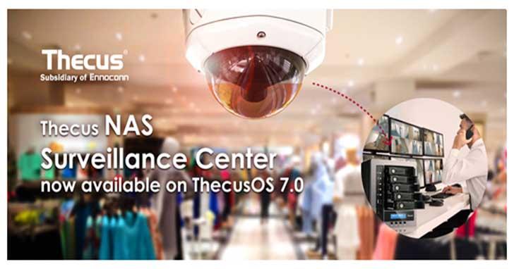 樺賦科技推出全新Thecus監控中心APP  為您居家與辦公室環境的安全做把關