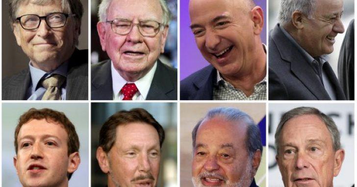 你知道嗎?在富比士 30 年來的富豪排行榜中,世界首富一直都只有 5 人