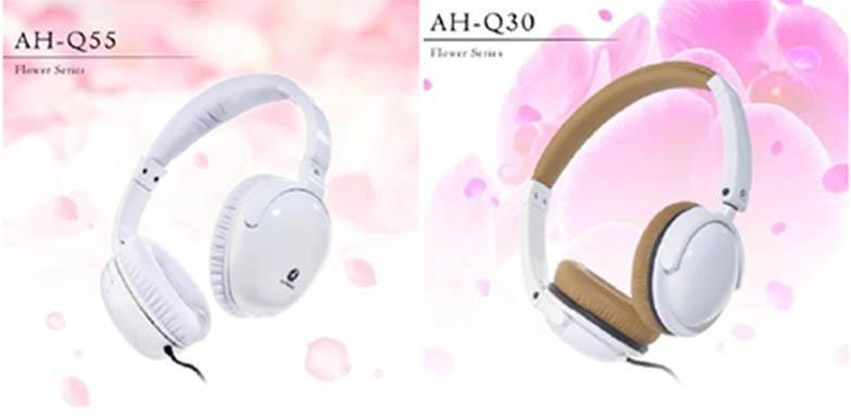 ALTEAM  AH-Q55、AH-Q30、AH-Q10花系列耳機