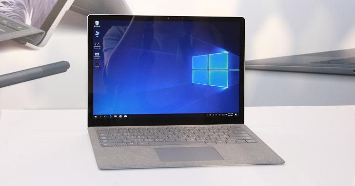 搭載Windows 10 S 系統 的 Surface Laptop 在台亮相、售價 31,888 元起,年底前可免費升 Win10 Pro
