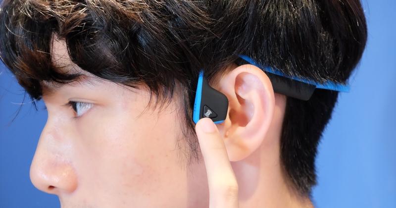 【評測】不用塞進耳朵裡,AfterShokz 骨傳導藍牙耳機試聽分享
